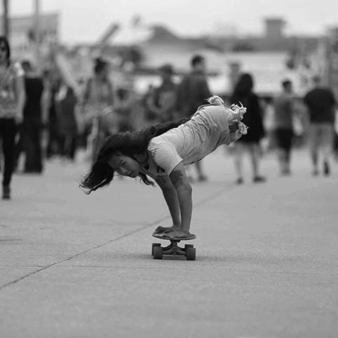 We always can. Legless skater @KanyaSesser taking it to the next level. Get inspired. @SethShap photo.  #longboardgirlscrew #womensupportingwomen #skatelikeagirl #kanyasesser #inspiration
