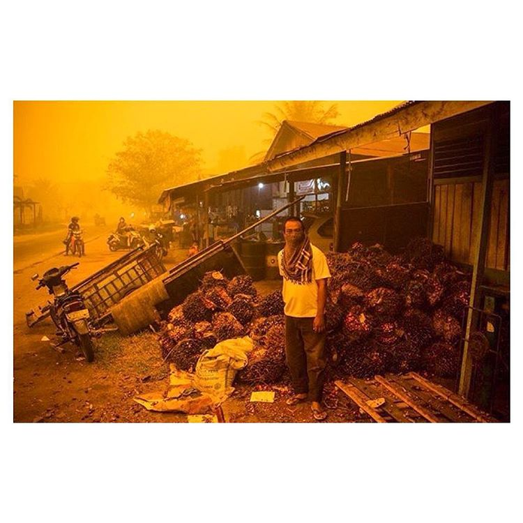 "Bali people: Head to @thestrawhut tonight of you can - they are screening the documentary ""Heart of the Haze"". This is a HUGE issue at the moment - the haze from illegal fires is out of control, with the Pollution Standard Index reaching 2,000..."