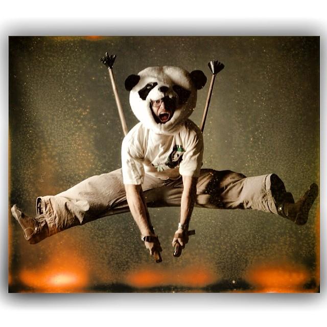 TanSnowMan... Chief of Panda Poles... Photo: Weston Hall (@westonphoto)  @tansnowman  #magicskiwands #pandatribe