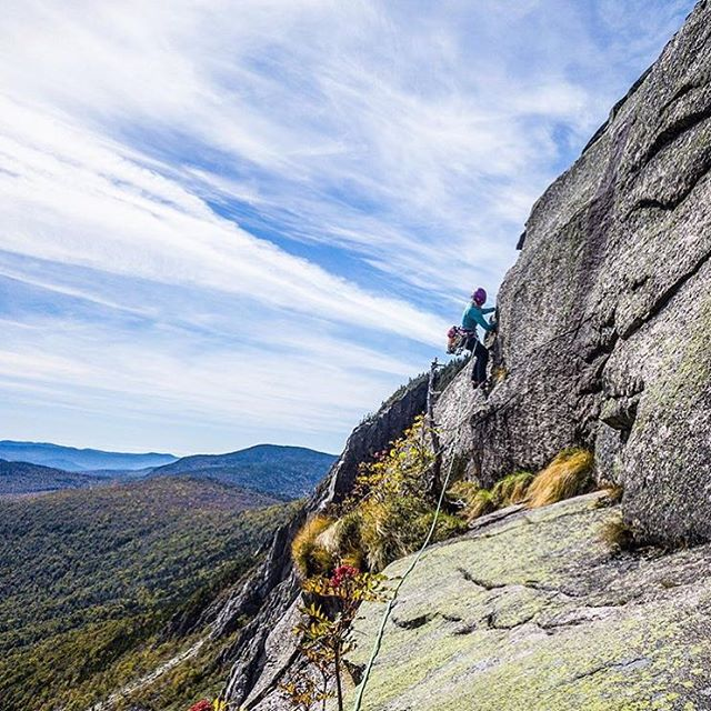 1% for the Planet ambassador @majkaburhardt climbing Moby Grape on Cannon Mountain in #NewHampshire. Check out majkaburhardt.com to learn more about her passion, purpose and story with the outdoor world.