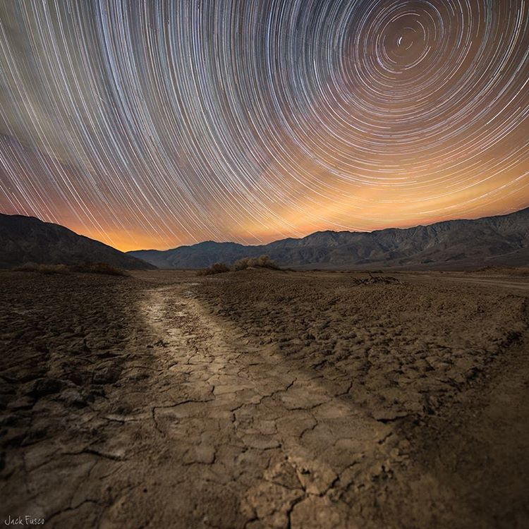 @jackfusco certainly has a knack for capturing stars in motion. This is a recent shot from the Anza-Borrego Desert in California. #