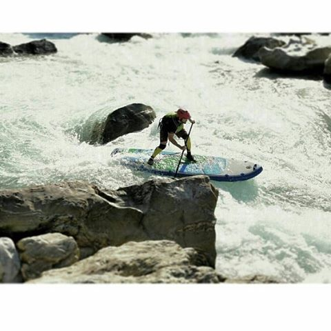 Peter Hall in Japan #hala #suppaul #paddleboarding #japan #riversup  Photo: @suppaul_pics
