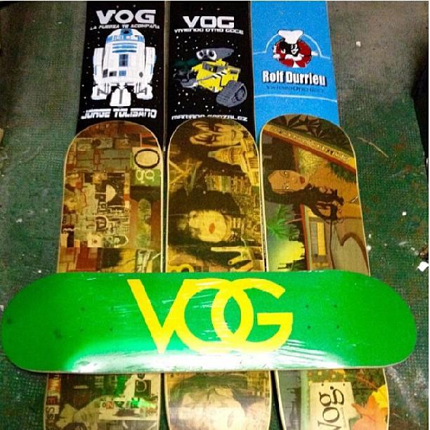 #vogskateboards #viviendootrogoce #vogviviendootrogoce #skateboards