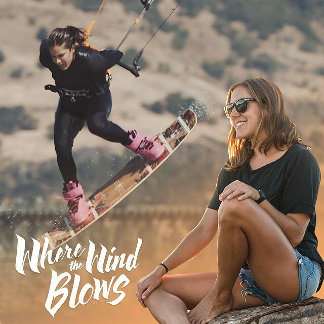 "Stoked to share Sensi's ""select"" from Where The Wind Blows, an all-female kiteboarding mini series featuring our beautiful home in Hood River. Learn more about our Owner/Designer! Link in profile. @moxyint @redtidepictures @sensigraves..."