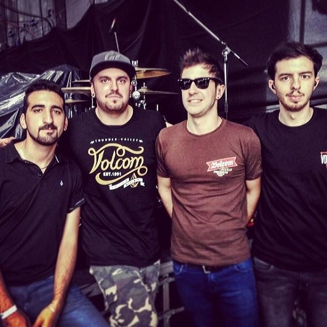 Nuestros amigos @infierno18 de gira! #EnMisManosTour #CosquinRock2014 #infierno18 #VolcomEnt #VolcomFamily #VolcomArgentina