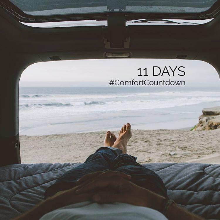 The countdown continues.... Tag a friend who's a boss car camper #ComfortCountdown #gorumpl
