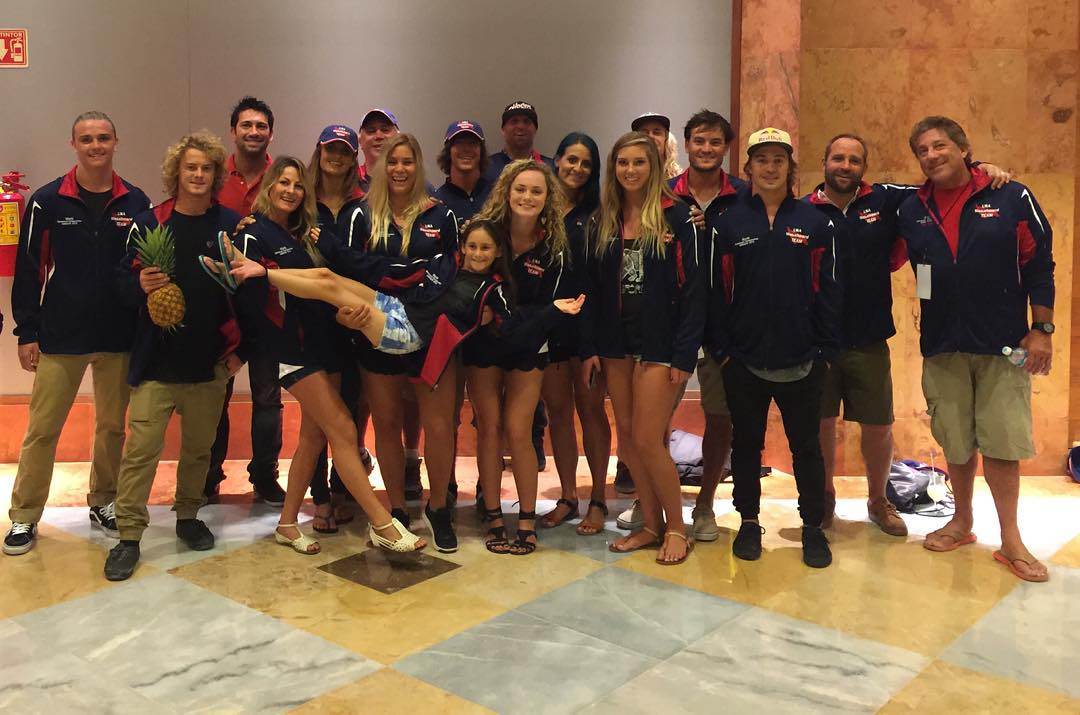 Hoven wake manager Chad Lowe (@chad_lowe ) and team rider Melissa Marguardt (@melissa_marquardt ) rolling deep with the USA wakeboard team at the IWWF world championships in Cancun.  #teamhoven #hovenvision #waketeam #teamusa #squadgoals #iwwf