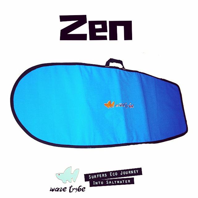 Wave Tribe Zen Hemp Boardbag #ecosurf #zen #hemp #surferswhocare