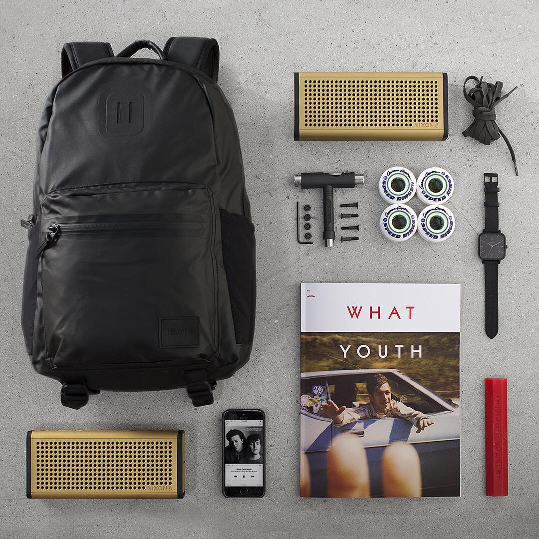 Essential picks for life on the road by @currencaples #Ragnar #BlasterPro #TearsforFears #C3Backpack #NixonNow