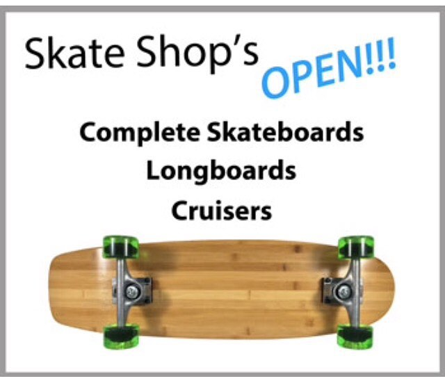 Come on in!! We are always #open #skateboarding #longboarding #crusiers #street #park #pool #skatelife #concretewave #surf