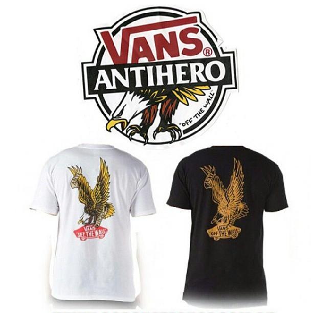 #vansxantihero tshirts & shoes ya disponibles! #avstafe4096 #galeriaplazaitalia #vansargentina