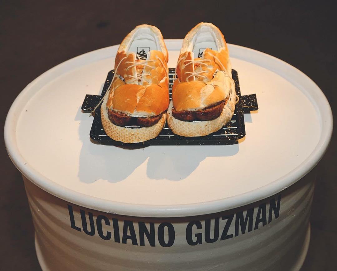 Felicitaciones a Luciano Guzman, que se mandó este laburo tremendo, convirtió las Era en un choripán de zapatilla (le puso hasta chimichurri) y se ganó un viaje a Nueva York todo pago para conocer la #HouseOfVans