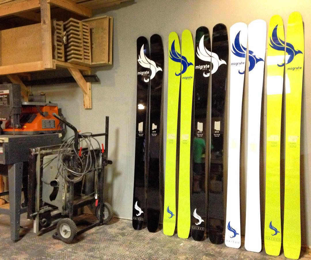 Pressin planks and gearing up for the Denver Ski and Snowboard Expo!!! The snow has started falling here in Colorado and we've been out there chasing it!  Have you?! All carbon construction, made here in Denver and backed by a 3 year warranty!! Yup,...