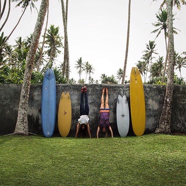 "@lexweinstein_ and I are taking over the @teva Instagram, posting as we run around Sri Lanka looking for lady waves.  Follow our little venture there for a peak into ""India's Teardrop"" #tevaupgrade"