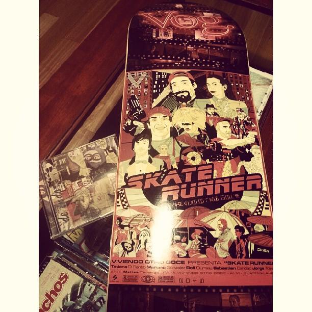 #queflash armarse una nueva #vogmaple #vogskateboards #viviendootrogoce #skaterunner
