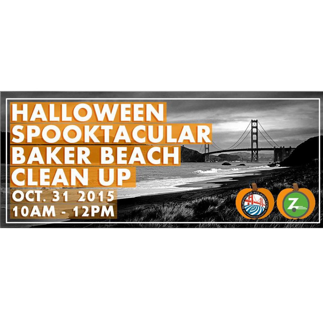 Join us for a spooky beach clean up! Click on our profile link for more details. #sf #beachcleanup
