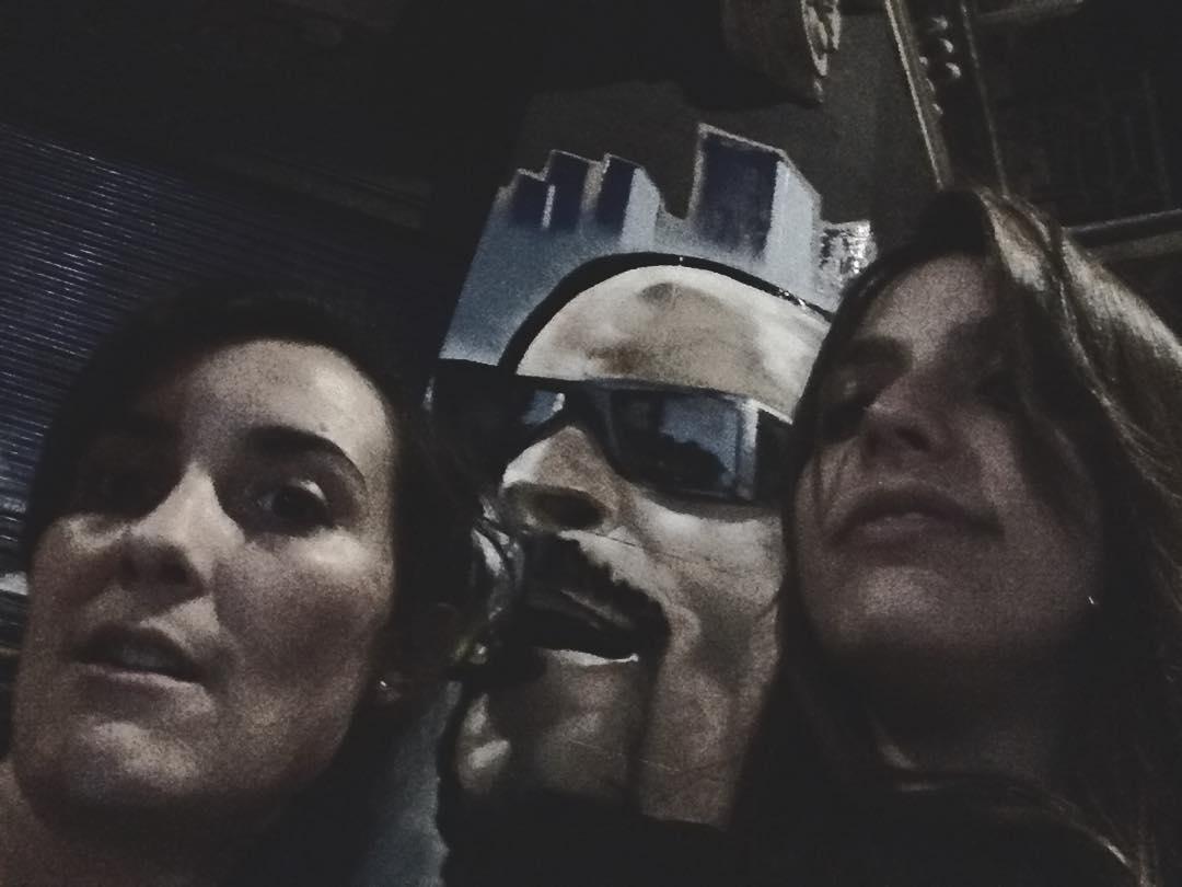 Acá con Snoop Doggy Dog @snoopdogg