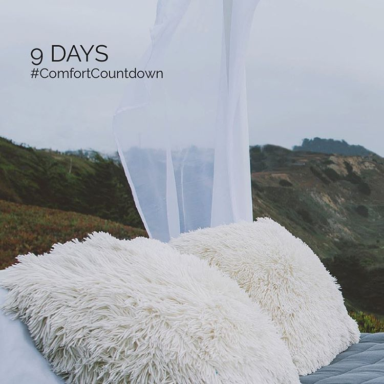 We're eager... #ComfortCountdown