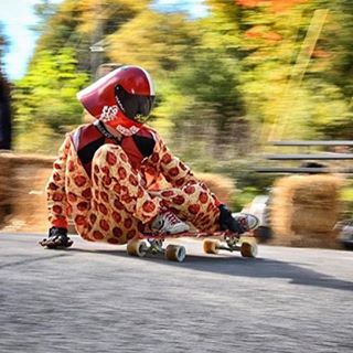 Getting ready for Halloween, flow rider Nolan Frasco (@n.frasco) got his pizza party on at the Soldiers of Downhill.  Throw on your costume and who knows, your tricks might win you some treats.  All you have to do is:  1. Tag 3 friends in the comments...