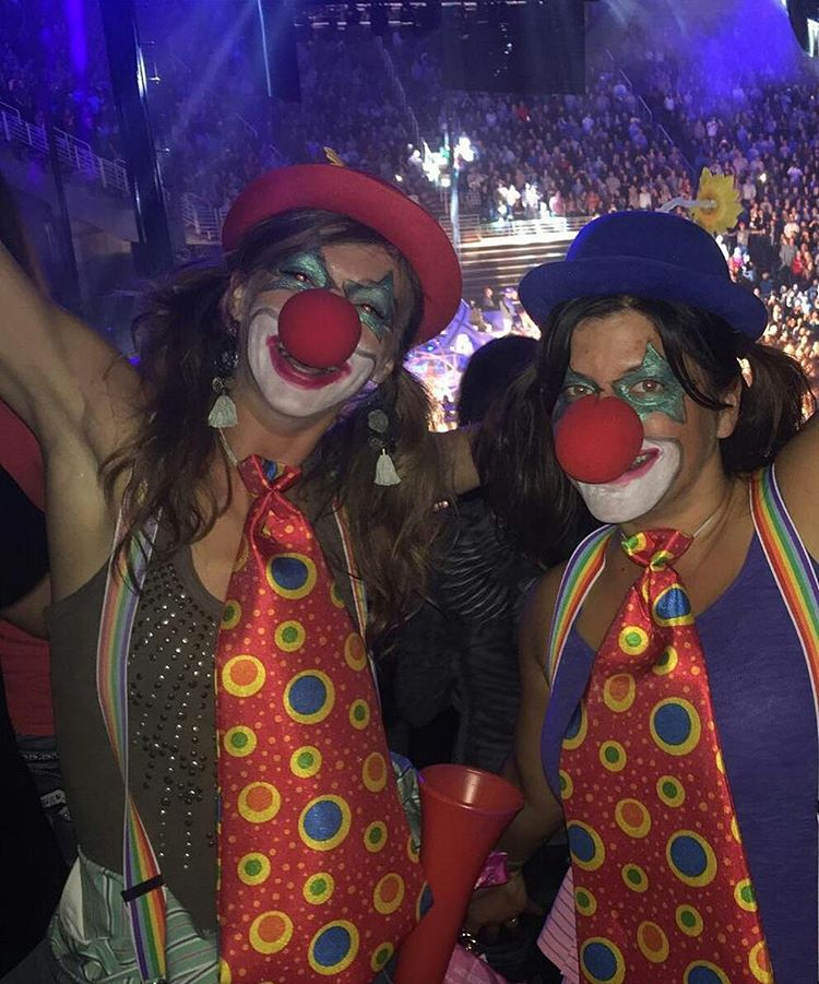 Two-time #XGames medalist @KaitlynFarr dressed up as a rodeo clown for Halloween!