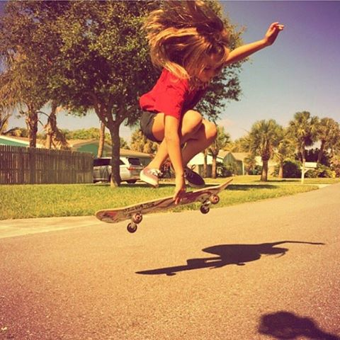 SOARING // #luvsurfgirl @alaina.heater #luvsurf #wearthecalidream #skatergirl