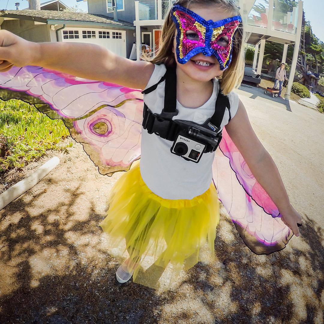 Happy Halloween! Have a safe + fun weekend. Be sure to share all your costumes and candy with us by following the link in our profile. #GoPro #TrickorTreat