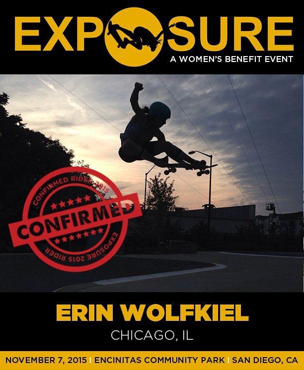 Erin Wolfkiel (@erinwolfkilla) is confirmed for Exposure 2015!