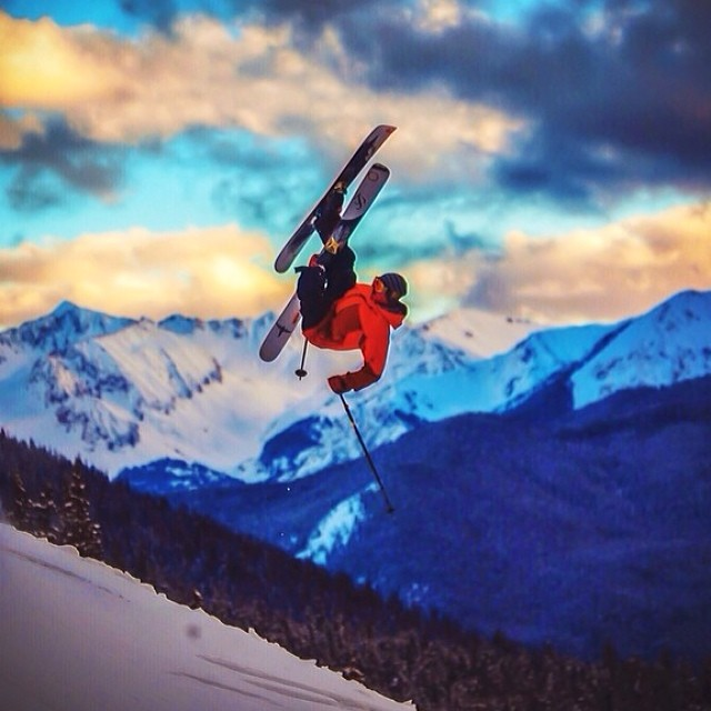 Regram of @colterjh flying into the sunset with @vitalfilms. Can't wait to see the shots! #trew15 #beastjacket