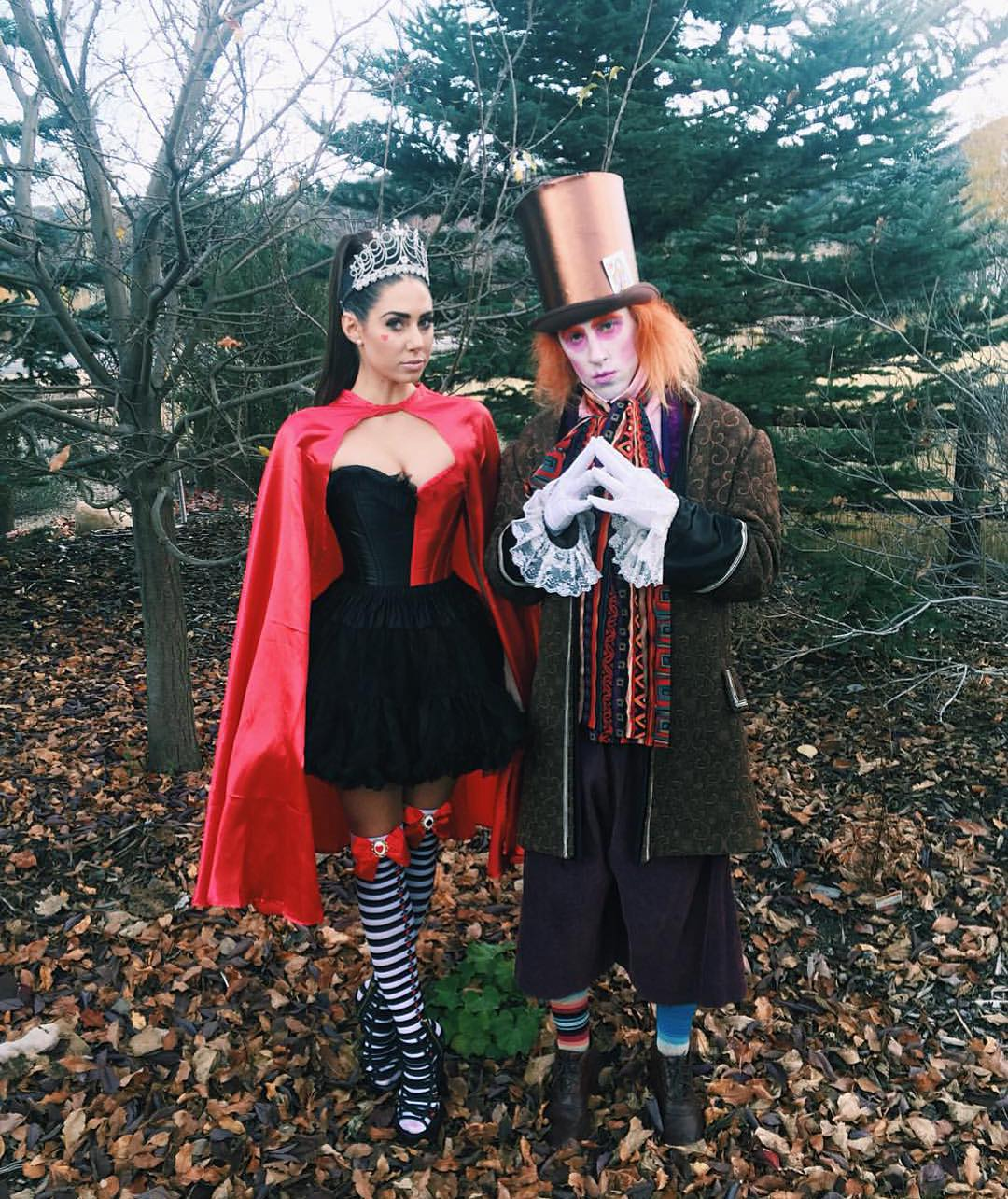 Two-time #XGames medalist @SageKotsenburg dressed up as the Mad Hatter from 'Alice in Wonderland' for Halloween!