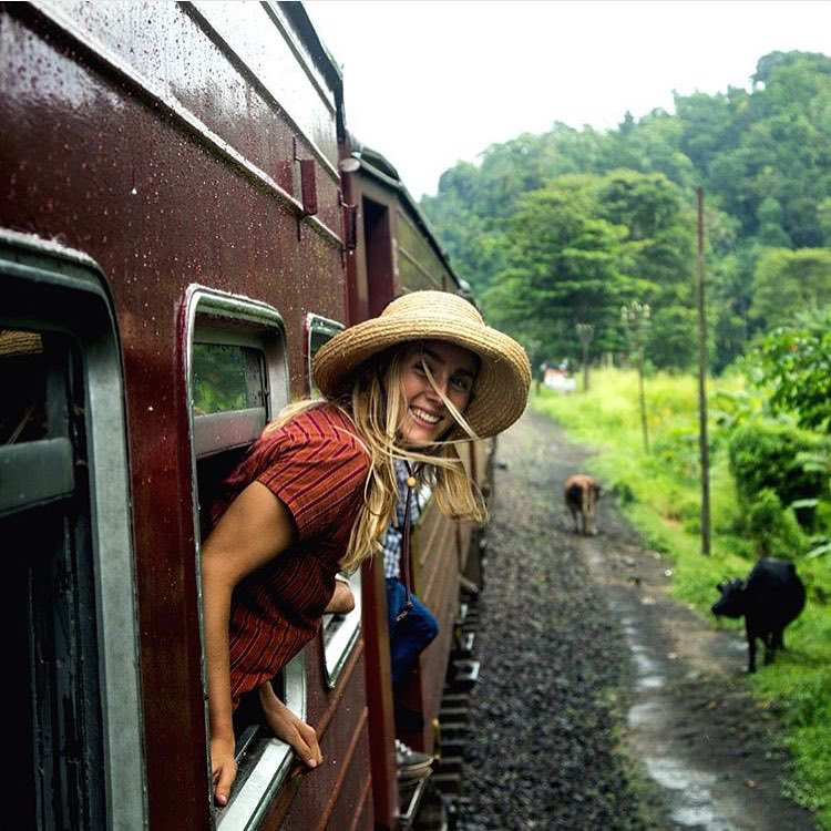 Train up to the mountains, some of the best 4 hours of my life. No room to stand, elephants, water buffalo and dense rainforest out the windows. Photo: @nickedwingreen @connerhats
