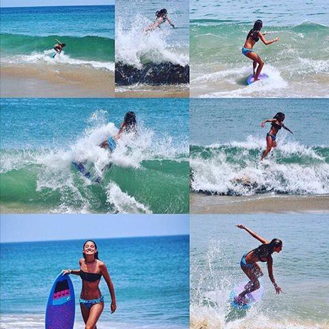SKIM // LUV SURF #luvsurfgirl @emdorony #skimboard #shred #smile