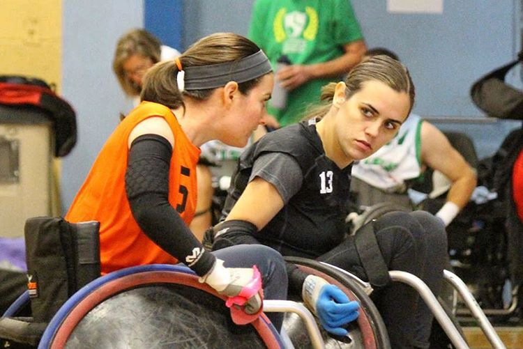 Nice work at the Reno Ruble Wheelchair Rugby Tournament #highfivesathlete's!!