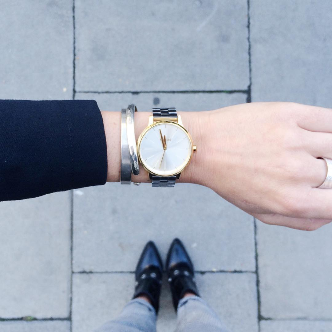 Thanks to @asos_alice for flying the #Nixon flag with this Kensington!  Tag your photos and you could be featured too.