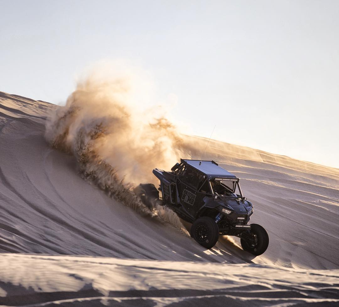 My @polarisrzr in the dunes out at @camprzr in Glamis this Halloween weekend