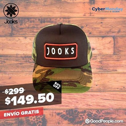 #CyberMonday JOOKS en @goodpeoplearg ingresá en