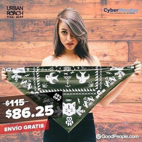 Empezó el #cybermonday ! Entra a nuestro shop de @goodpeoplearg y aprovecha las ofertas! Link http://bit.ly/1SbpzYK ⚡️