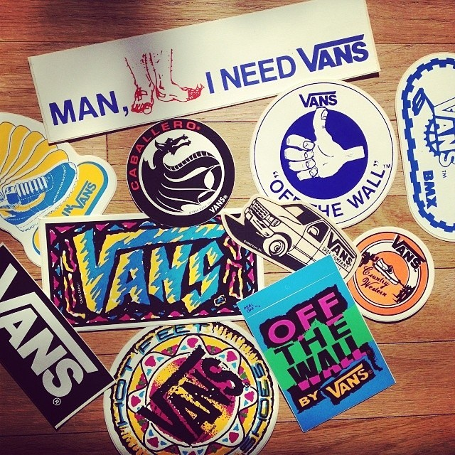 #Sticker Vans #Retro!  #Culturavans