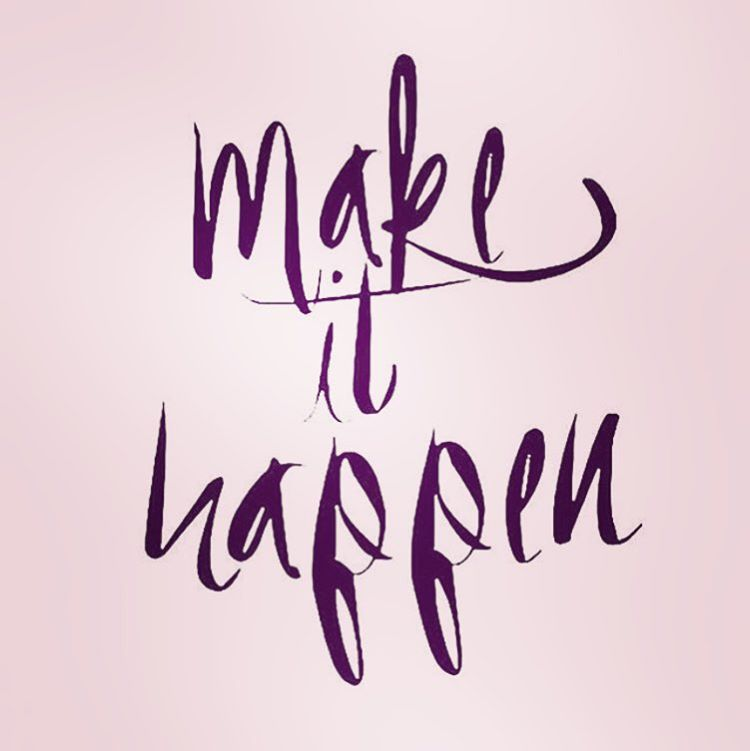 What's your goal this week? #makeithappen #mondaymantra #jointheadventure
