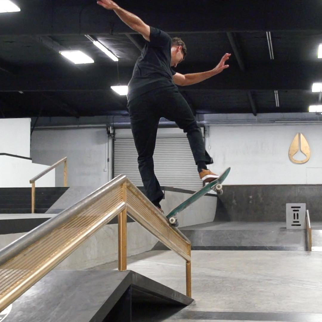 @mikeytaylor1 taught us to noseblunt slide in Ep. 10 of #XGamesTrickTips!  Click the link on our profile page to check it out.