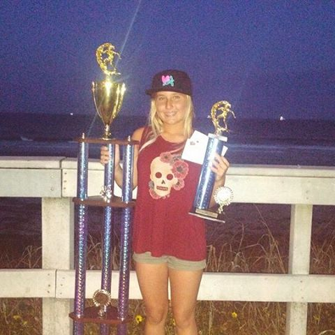 CONGRATULATIONS team rider @surfgypsy taking home 1st in women's open and 4th in girls this weekend!! Way to go Hannah! #luvsurf #team #surf #compete #tommytantmemorialsurfclassic