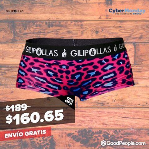 Llegó el Cyber Monday! Entrá ya a conocer todos los descuentos que tenemos para vos enGoodPeople.com GILIPOLLAS ® #cybermonday #descuentos #sale #monday #lunesfeliz #underwear #man #woman #style #lifestyle