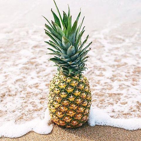 SWEET & SALTY #pineapple #luvsurf #NOMM #beach