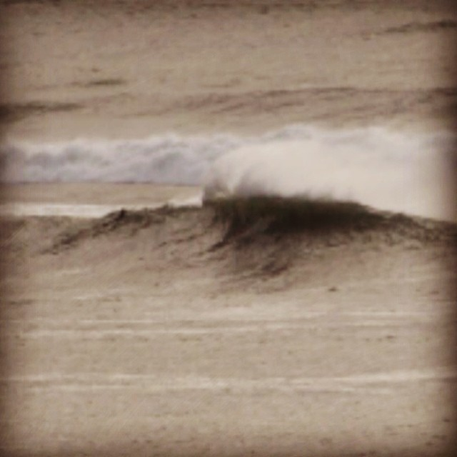 Great photo from this amazing stormy weekend in CA. Big. Epic and Sharky. Central California style. #goflow #storm #california #surf