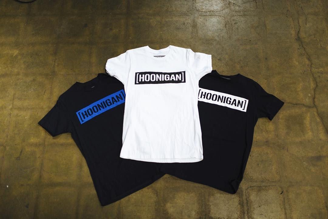 The #HNGN C-bar tee is offered in these color ways  and more. And also available in crew neck and pull over hoodie form. #nowyouknow (hoonigan.com)