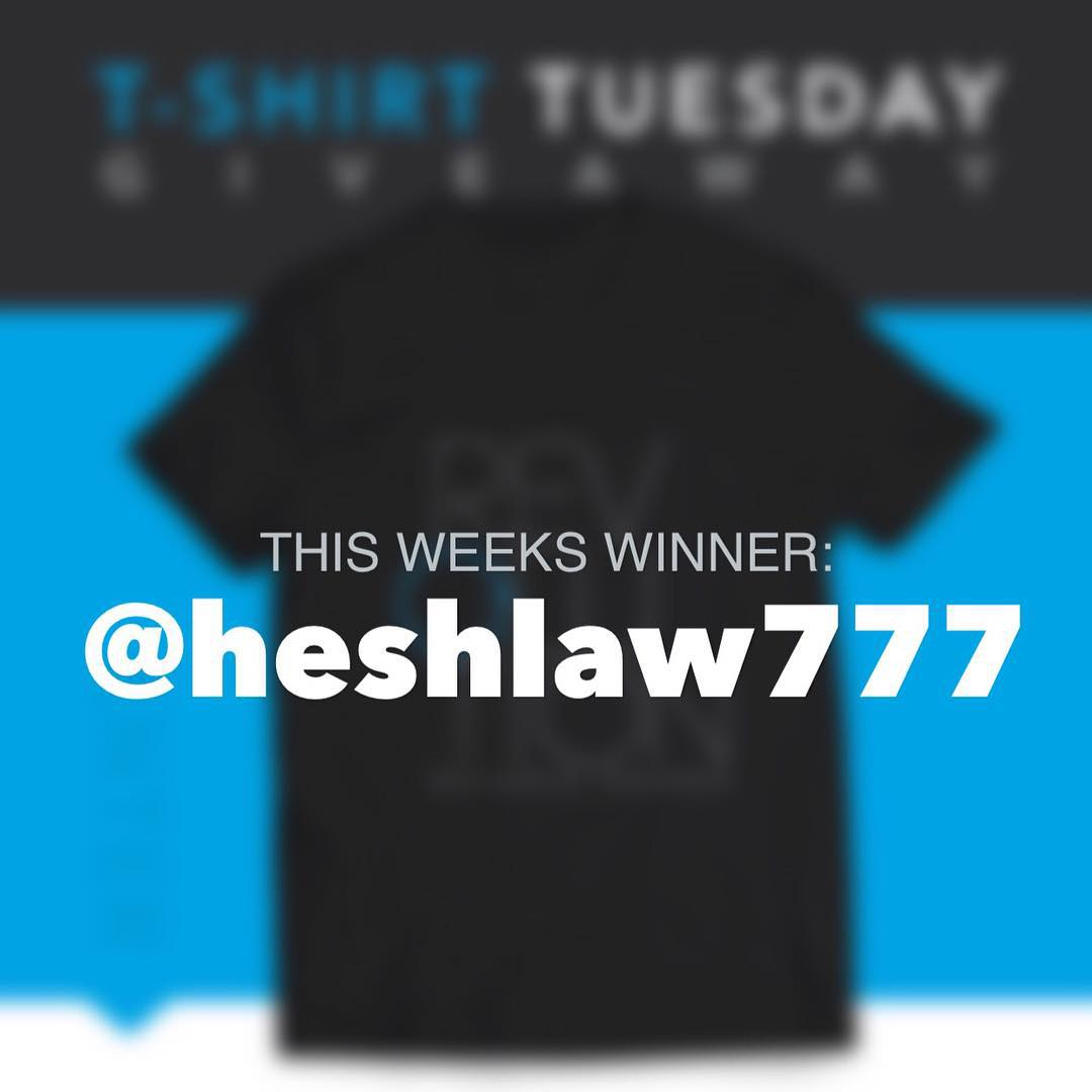Congrats to last weeks winner of the Halloween giveaway @heshlaw777 !! Make sure you check him out and make sure you stay tuned for the next giveaway running tomorrow!