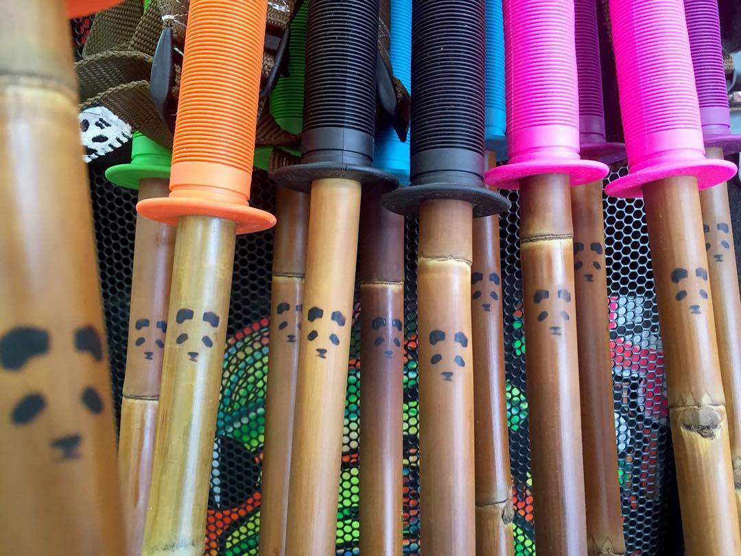 What's your flavor?  Photo: SE7EN SUMMITS  #PandaPoles #HandCrafted #CustomSkiPoles #BambooSkiPoles #MagicSkiWands