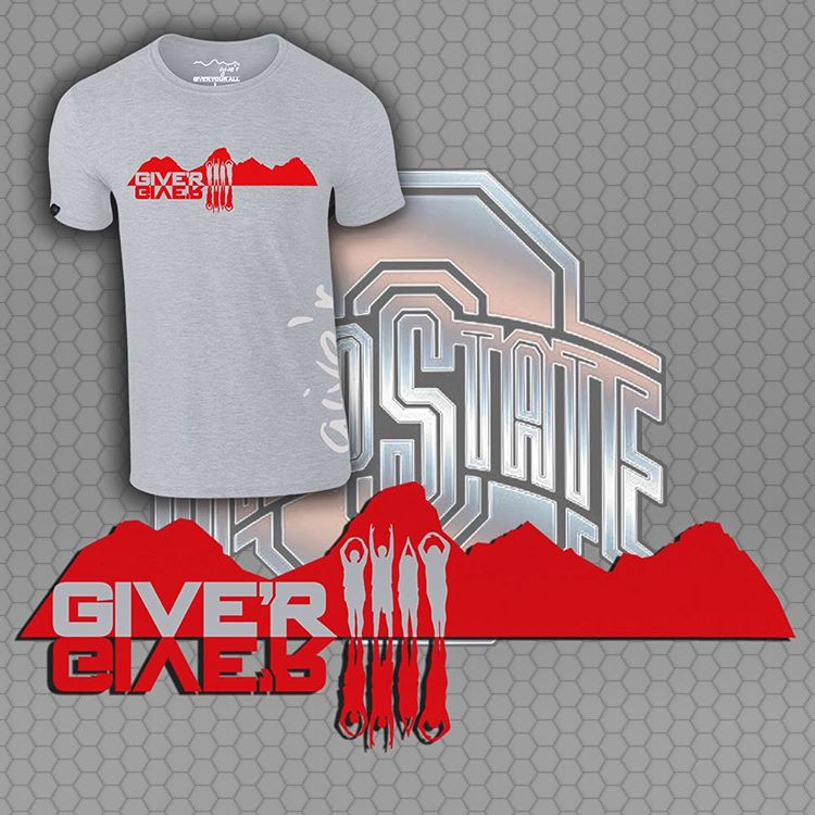 "A little ""Happy Hour"" special for Buckeye Nation, 30% off Give'r O-H-I-O tees through tomorrow.  Use code ""GoBucks"" at checkout: www.give-r.com"