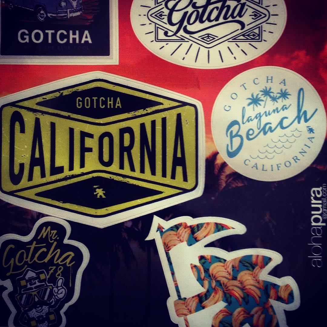 #gotcha #stickers by AlohaPura