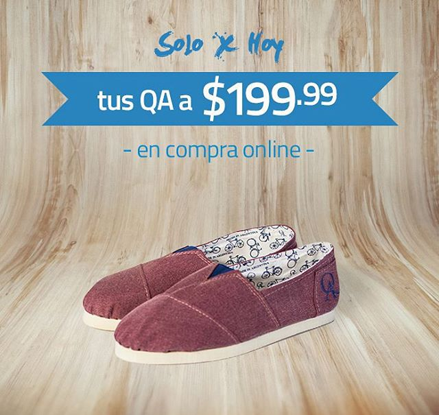 ¡Solo por hoy! QAcompany.com.ar #cybermonday #compraonline #tiendaonline