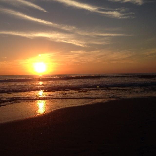 Nice sunset. #tamarindo #puravida #costarica #sunset #paradise